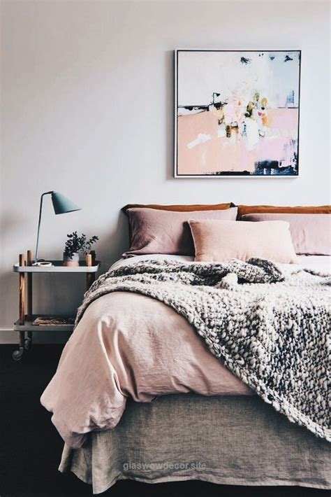 This trend also gives a space a more romantic ambiance. Look Over This Trendy pink and orange pastel tone bedding ...