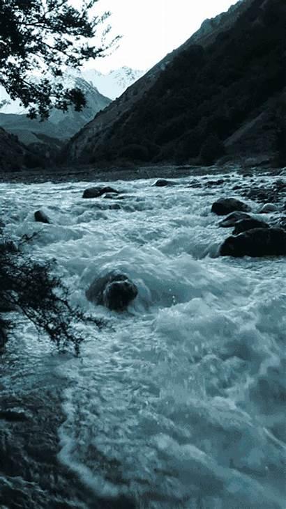 River Flowing Rocks Flow