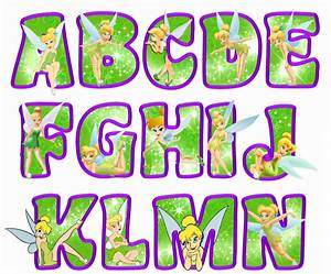 printable tinkerbell letters a n green tinkerbell With tinkerbell letters