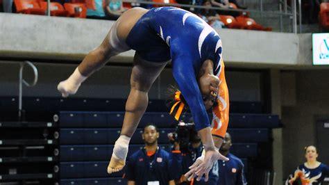 auburn gymnastics defeats unc