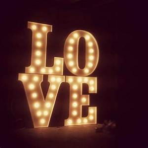 pin by boho weddings life on light up letters pinterest With light up letters