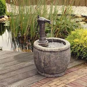 Fontaine A Eau Exterieur : fontaine a eau exterieur solaire fontaine a eau deco ~ Dailycaller-alerts.com Idées de Décoration