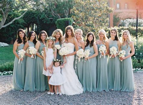 black tie secret garden wedding aqua blue bridesmaid