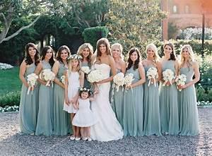 pretty aqua blue bridesmaid dresses http www With garden wedding bridesmaid dresses
