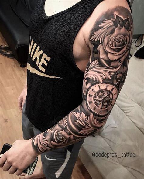 Color Tattoos Sleeve Ideas Drawings