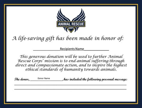 Donation Certificate Templates Choice Image Template Design Free