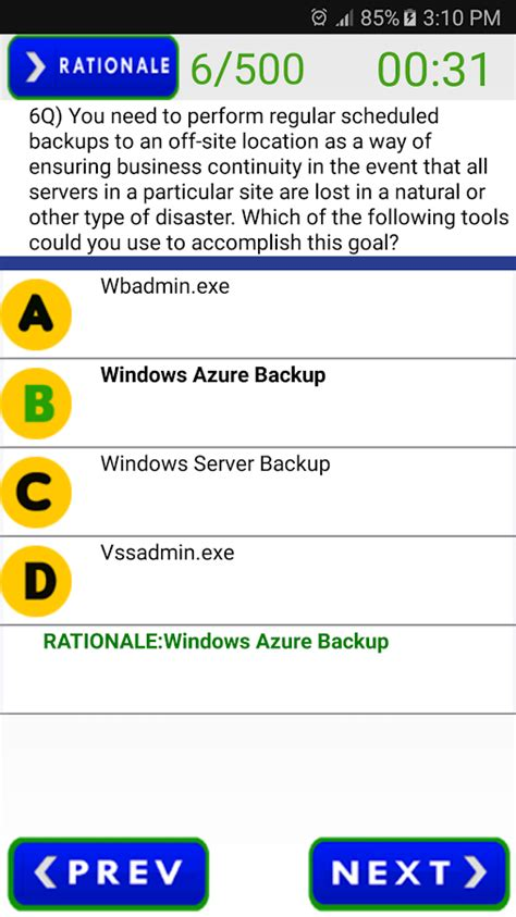 Mcsa Exam Questions Test  Android Apps On Google Play