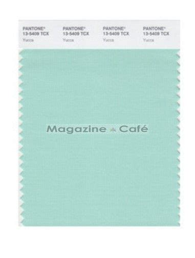 pantone smart 13 5409 tcx color swatch card yucca