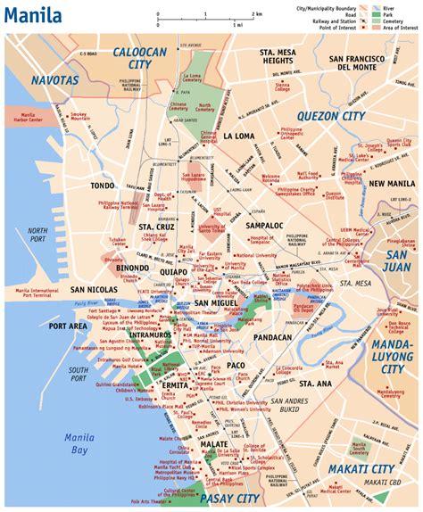 wwwmappinet maps  cities manila