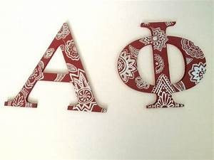 sorority letters sorority and letters on pinterest With sorority wood letters