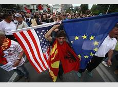 New Balkan Crisis How West 'Rewards Albanians for