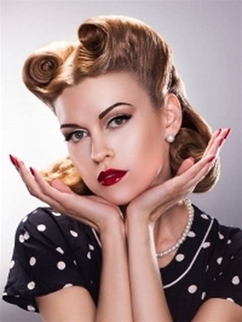 50s Pin Up Hairstyles by Hairstyles 50s Style