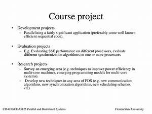 Ppt, -, Cis4930, Cda5125, Parallel, And, Distributed, Systems, Powerpoint, Presentation