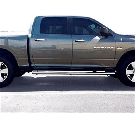 Dodge Ram 3500 Crew Cab 2010 2015 Nerf Bars Stainless