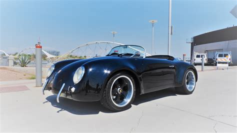 first porsche 356 sold 1956 porsche 356 speedster super wide body replica