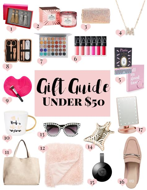 gift guide christmas gifts under 50 a sparkle factor