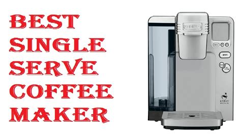 You tap the only button, and the coffee cup gets filled with the pure taste of. Best Single Serve Coffee Maker 2018 - YouTube