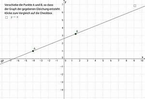 Lineare Funktionen Nullstelle Berechnen : zeichnen von linearen funktionen geogebra ~ Themetempest.com Abrechnung