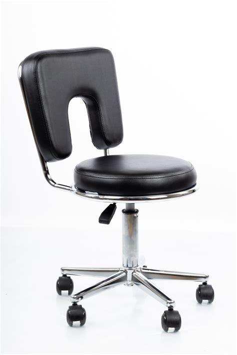 Meistara krēsls RESTPRO® Round 4 black (kosmetologa ...