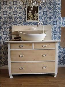 Badmöbel Vintage Style : badm bel landhaus zaubern eine wohlf hloase der behaglichkeit ~ Michelbontemps.com Haus und Dekorationen