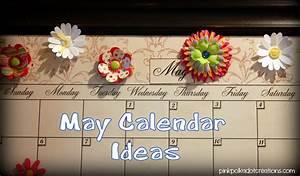 May Calendar Ideas - Pink Polka Dot Creations