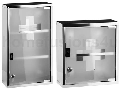 Lockable Medicine Cabinet Boots by Wall Mounted Lockable S Steel Medicine Cabinet Aid