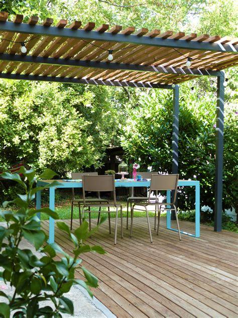 mobilier de bureau 974 l 39 été au jardin table terrasse et pergola