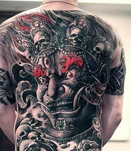 90 Demon Tattoos For Men - Devilish Exterior Design Ideas