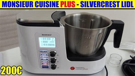 avis sur cuisine plus monsieur cuisine plus lidl silvercrest présentation test