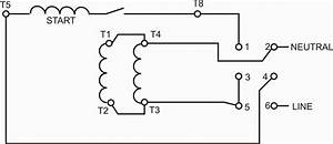Split Phase Motor Reversing Wiring Diagram