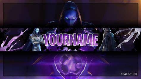 Fortnite Youtube Banner Template