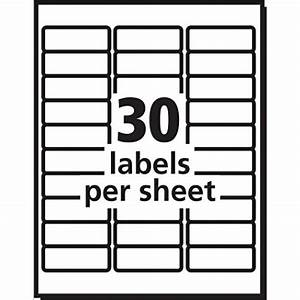 avery easy peel white mailing labels for laser printers 1 With how to print on avery 5160 labels