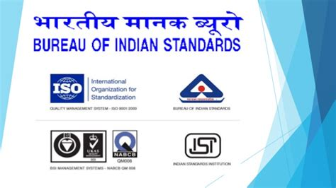 bureau of product standards bureau of indian standards