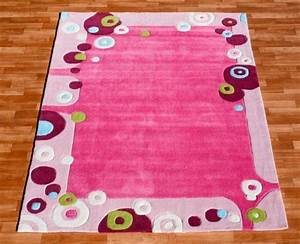 tapis chambre fille rose solutions pour la decoration With grand tapis enfant
