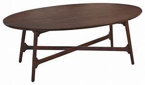 Hammary mila oval cocktail table in burnished copper for Oval copper coffee table