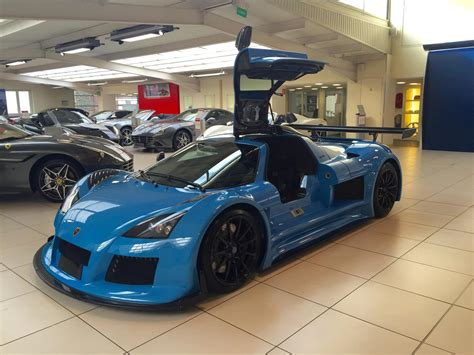 Blue Gumpert Apollo S For Sale In France