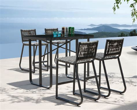 modern bar height table outdoor bar height tables and stools modern patio outdoor