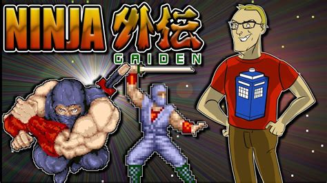 Ninja Gaiden Arcade Game Retro Review Youtube