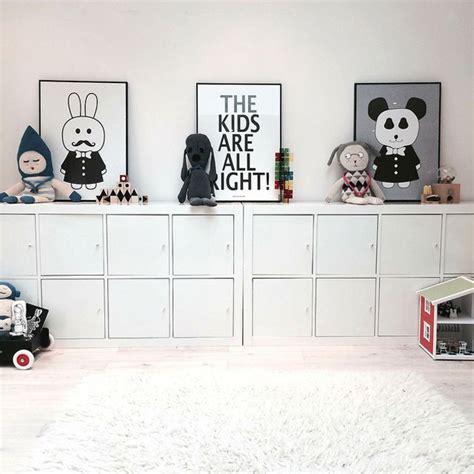 ikea rangement chambre rangements ikea dans une chambre enfant