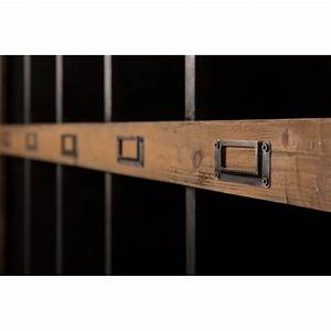 Etagere Industrielle Murale : etag re murale vintage dutchbone en bois de sapin rustic drawer ~ Preciouscoupons.com Idées de Décoration