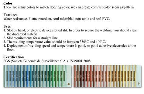 PVC Bodenbelag Zubehör Kunststoff Schweißdraht