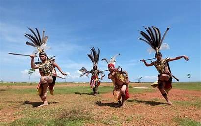 Kalimantan Dayak Indigenous Affect Capital Move Indonesia