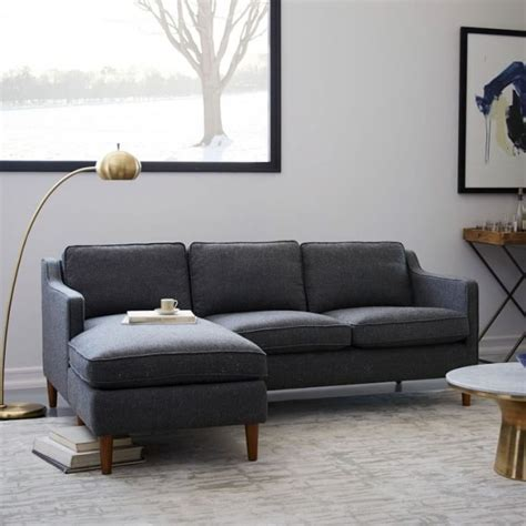 Small Sectional Sofas For Apartments by Best Sofas And Couches For Small Spaces 9 Stylish Options