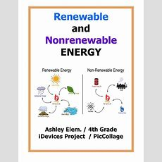 Pic Collage Renewable And Nonrenewable Resources By Fisd Flipsnack