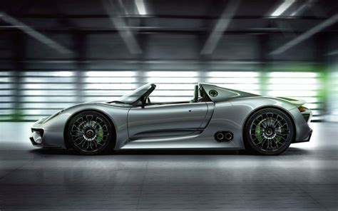 porsche electric 918 new porsche 918 spyder sports plug in hybrid concept