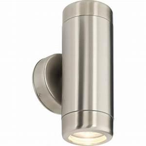 Endon 14015 atlantis 2 light outdoor wall light marine for Marine grade outdoor lighting uk