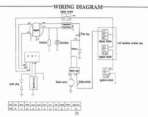 Sunl 110 Wiring Diagram
