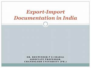 export import documentation in india With export documentation training