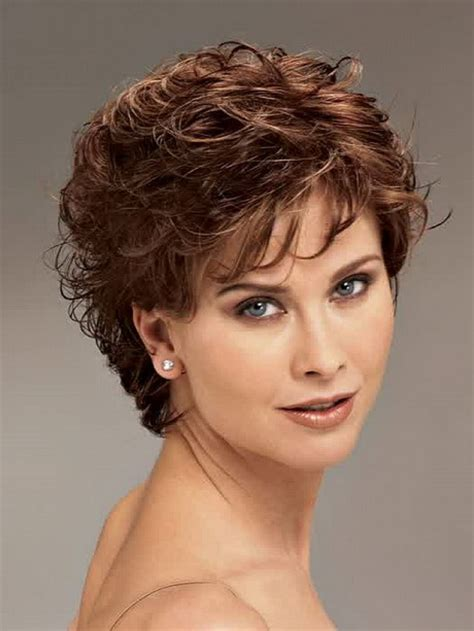 hairstyle for curly hair women short curly hair styles for women over 50