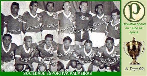 Palmeiras - Campeão da Copa Rio Internacional de 1951